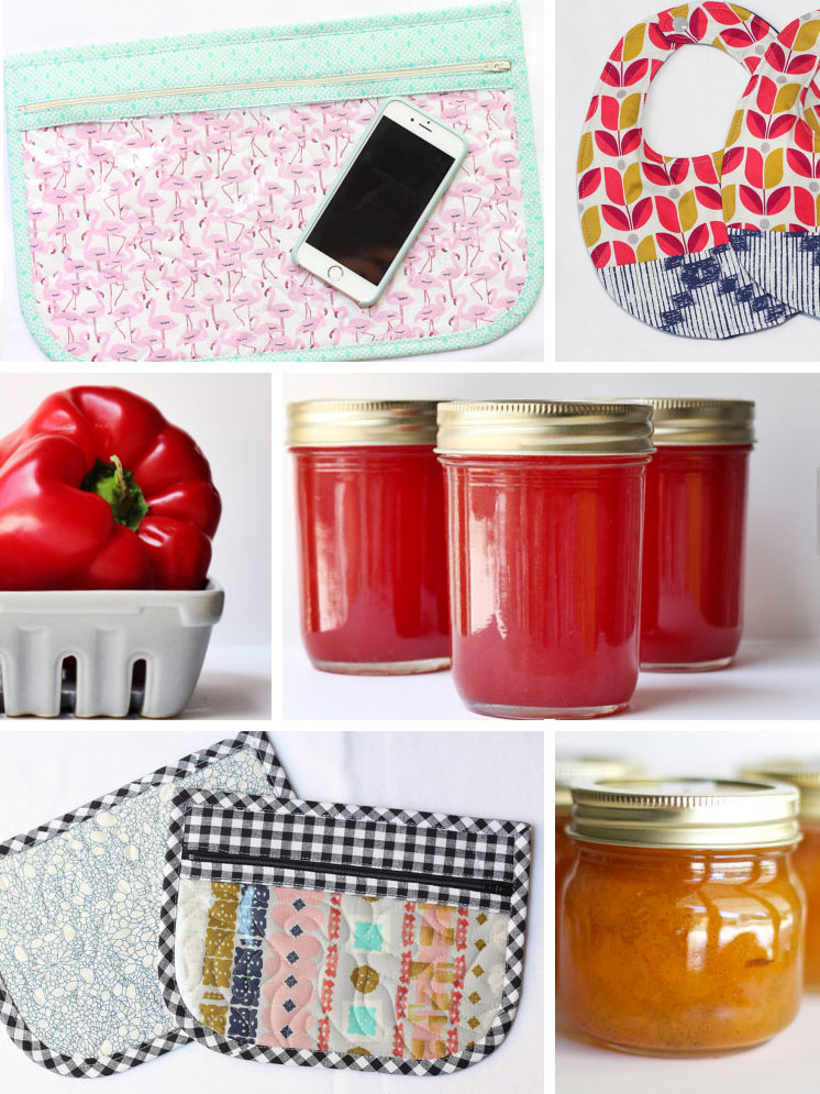 Zipper pouches, jams, baby bibs | Girlfriend is Better