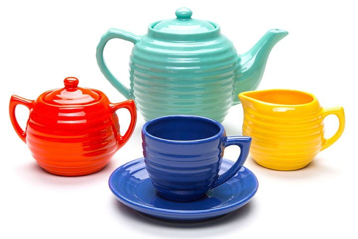 Bauer Pottery tea set | Girlfriend is Better