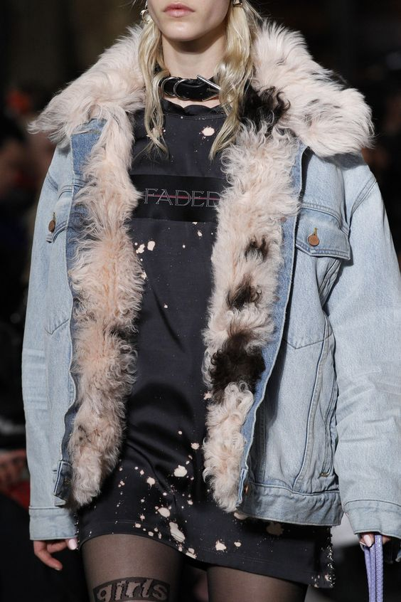 Alexander Wang fur-lined coats | Girlfriend is Better
