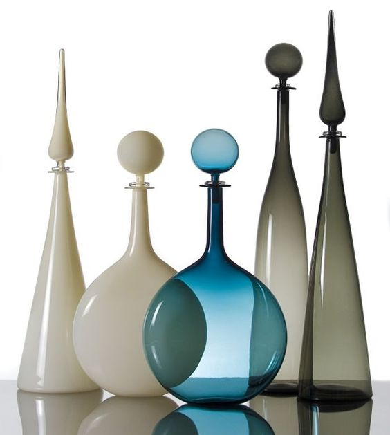 Modern glass decanters | Girlfriend is Better