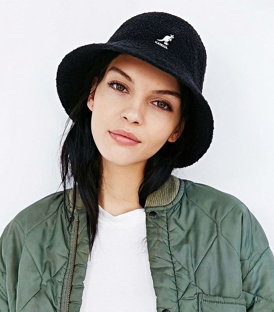 Kangol hat + bomber jacket | 80's hip-hop fashion guide | Girlfriend is Better