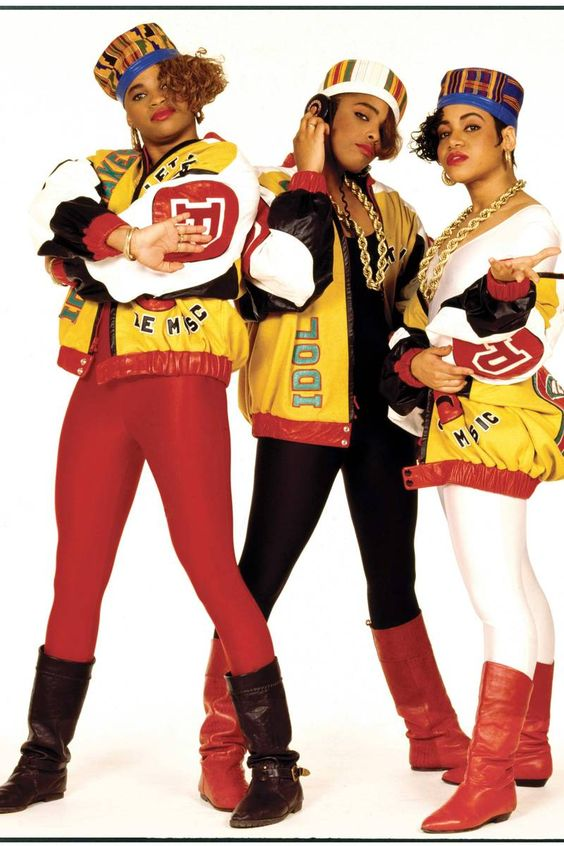 Salt N' Pepa | 80's hip-hop fashion inspiration | Girlfriend is Better
