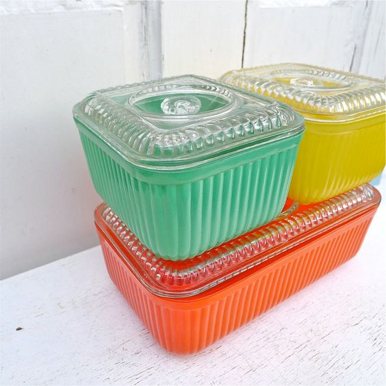 Vintage Pyrex storage set | Jambalaya recipe perfect for leftovers | Girlfriend is Better