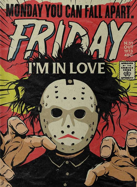 Friday I'm in Love art by OcéanoMar   Love language gift guide   Girlfriend is Better