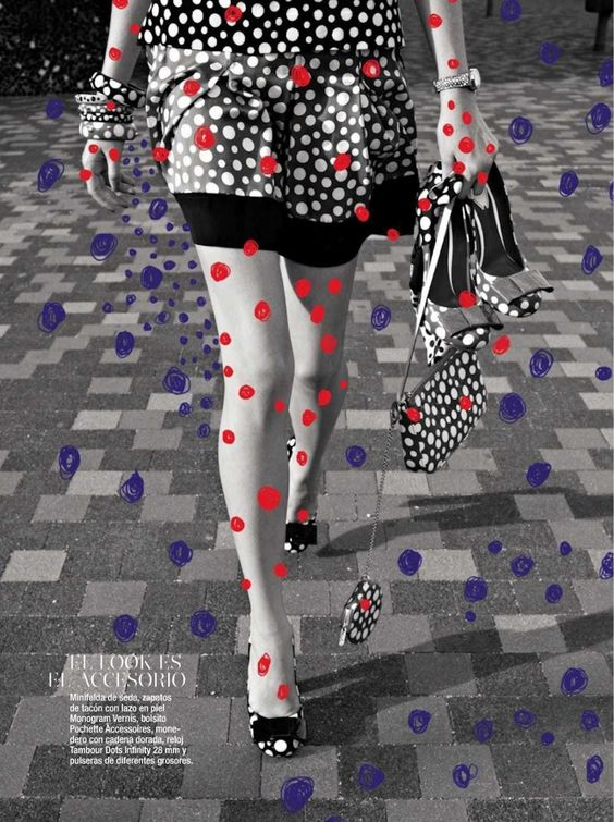 Magazine Cover Art | Yayoi Kusama | Girlfriend is Better