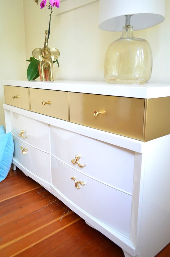 Beau Mid Century Modern Style Dresser In Lacquer | Painted Furniture Ideas |  Girlfriend Is Better
