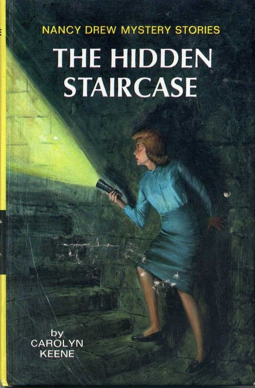Nancy Drew | The Hidden Staircase book cover art | penny loafers | Girlfriend is Better