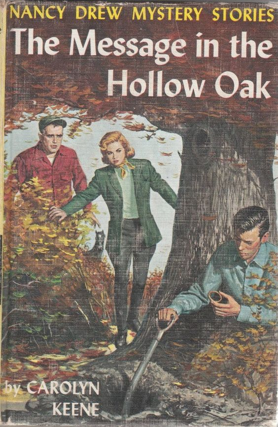 Nancy Drew | The Message in the Hollow Oak book cover art | penny loafers | Girlfriend is Better