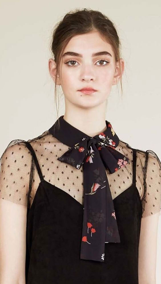 Pussy bow blouses for Spring | Girlfriend is Better