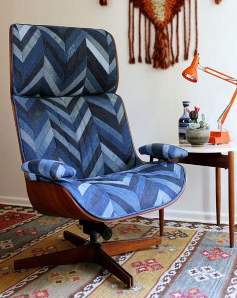 Reupholstering furniture   Eames lounge chair   Girlfriend is Better