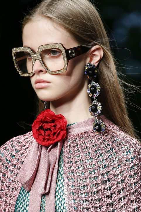 Gucci rocking the rhinestones | Statement earrings | Girlfriend is Better