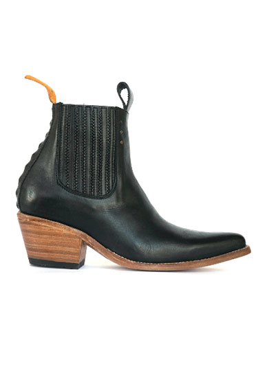 no.1001 freeway chelsea boot black women | pskaufman