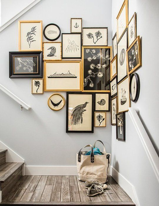Gallery wall guide | What to hang and how to frame | Girlfriend is Better