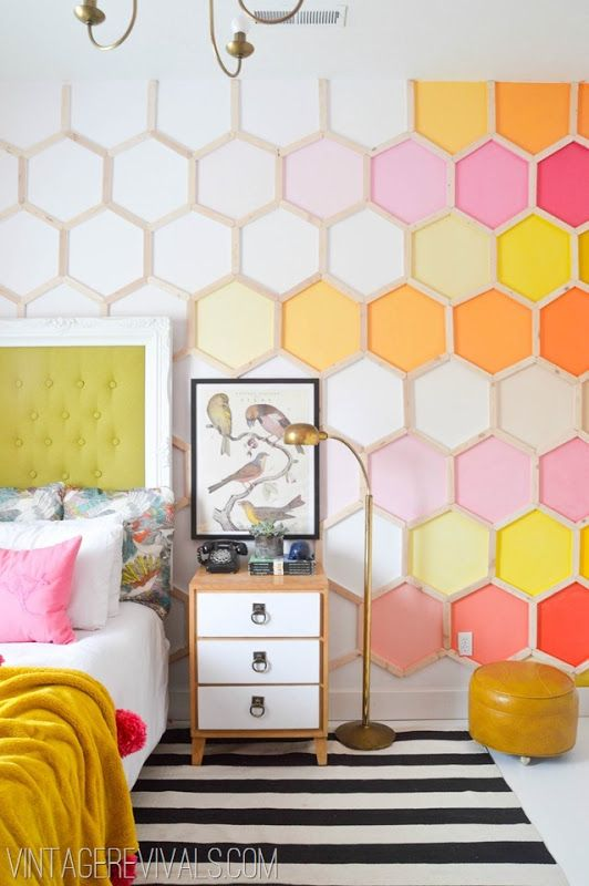 Hexagons are a fresh update to beadboard | Girlfriend is Better