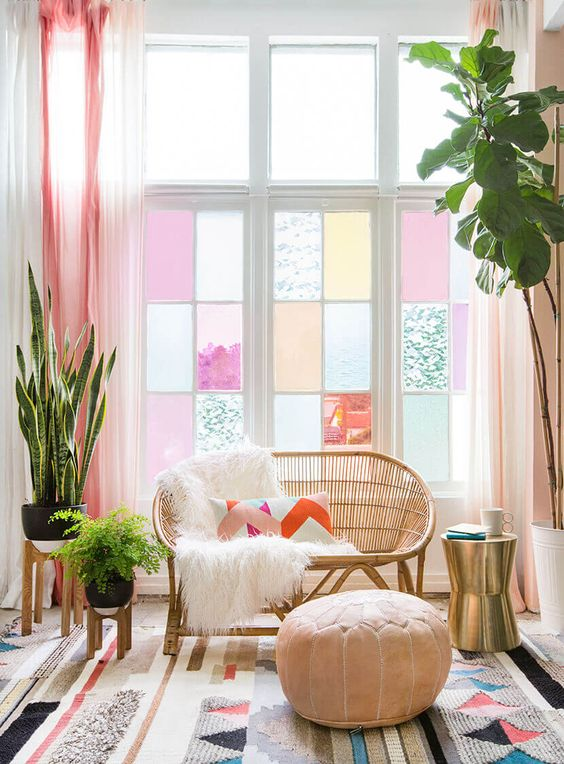 Pink decor and items in pairs for love + relationships center | Feng Shui guide | Girlfriend is Better