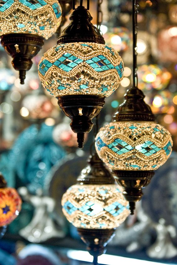Moroccan lamps beautiful Bohemian eclectic home decor | Girlfriend is Better