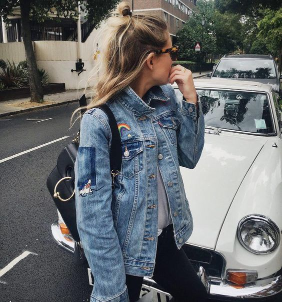 Best patches for a denim jacket | Girlfriend is Better