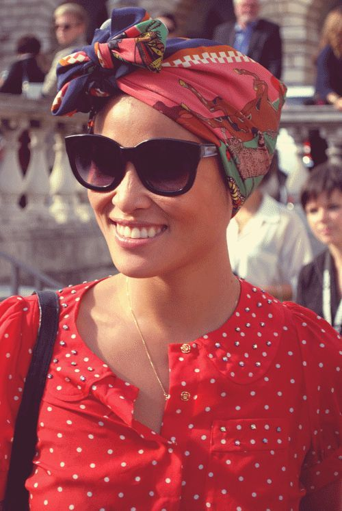 5 ways to wear a head scarf | Girlfriend is Better