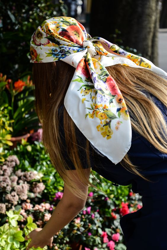 Head Scarf Makeover 5 Ways To Tie One On Girlfriend Is