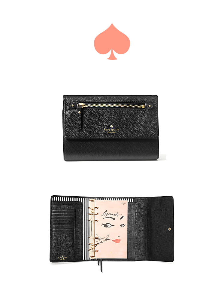 Cobble Hill Large Agenda by Kate Spade   perfect planners for any girl boss   Girlfriend is Better