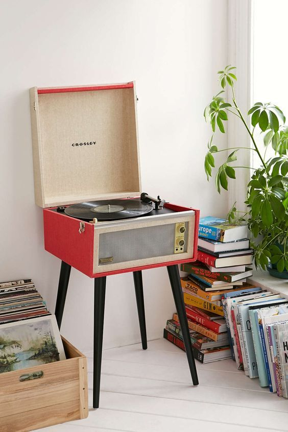 All-in-one record players | Crosley Dansette Bermuda USB Vinyl | Girlfriend is Better