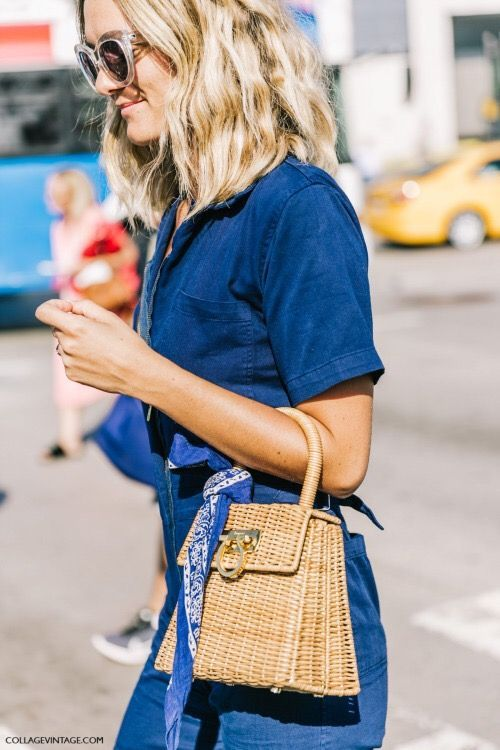 Structured straw purse for spring + summer | Girlfriend is Better