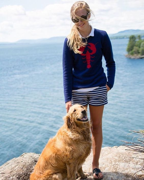 Preppy nautical outfit for Memorial Day   Girlfriend is Better
