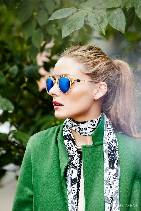 Mirrored sunglasses in bright hues | Girlfriend is Better