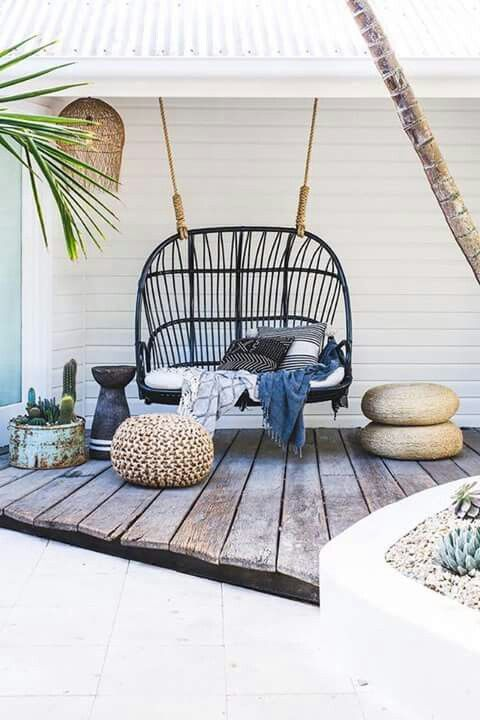 Bamboo chair or sofa alternative | Rustic porch swing | Girlfriend is Better