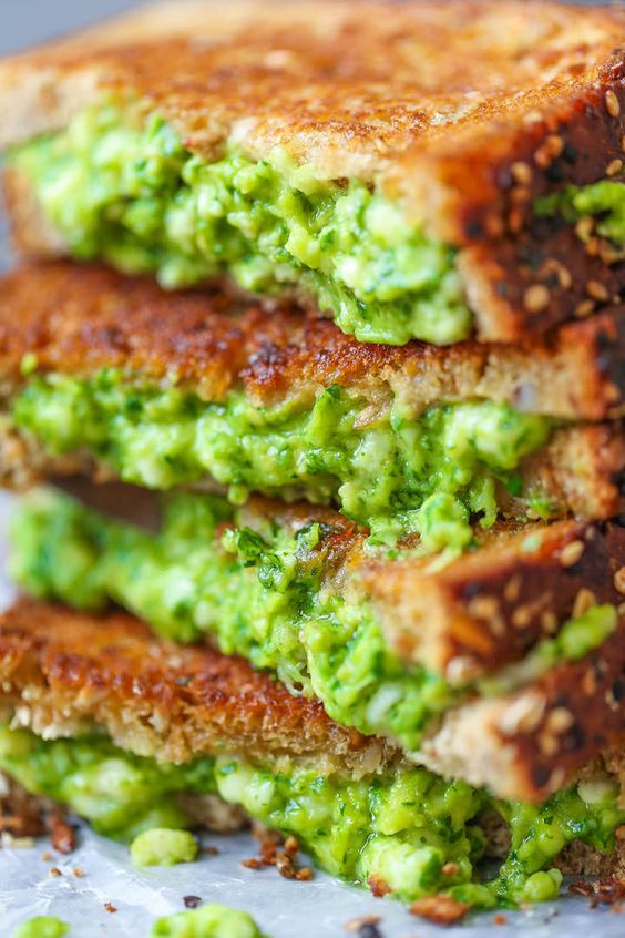 Avocado Grilled Cheese recipe | Avocado toast upgrades | Girlfriend is Better