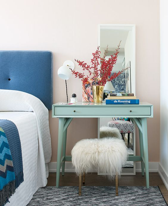 Mid-century modern inspired dressing tables | Girlfriend is Better