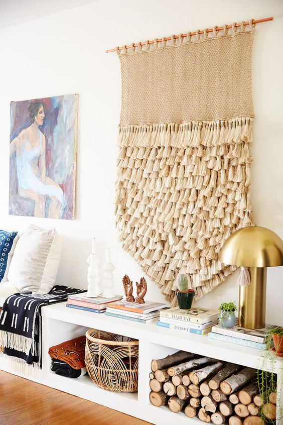 Bohemian macrame wall hangings | Girlfriend is Better