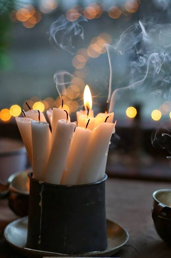 Candles essential Hygge decor for the holidays guide | Girlfriend is Better