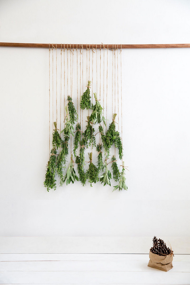 Christmas tree DIY ideas | Wall hanging using herbs macrame style | Girlfriend is Better