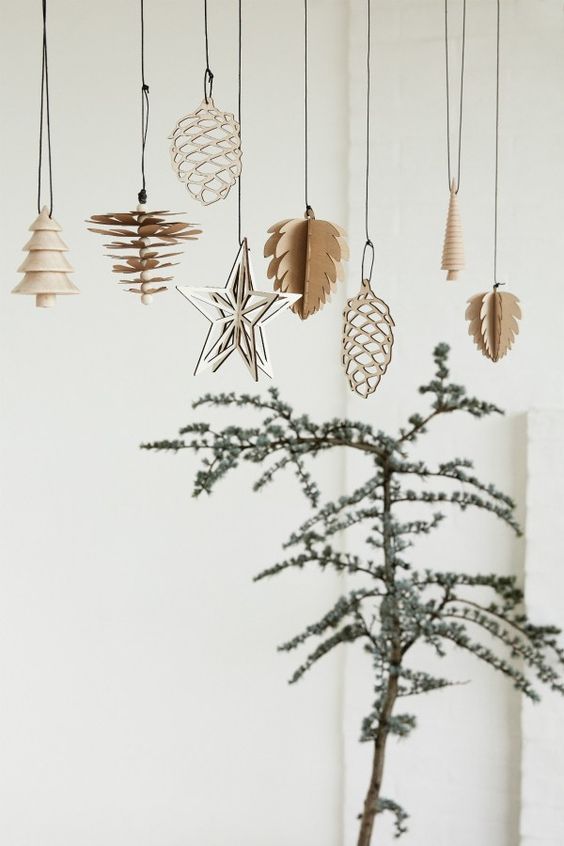 Hygge Christmas tree and hanging ornaments | Love language gift ideas | Girlfriend is Better