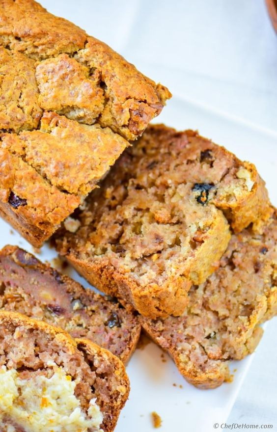 Persimmon Banana Nut Bread   Persimmons recipes   Girlfriend is Better