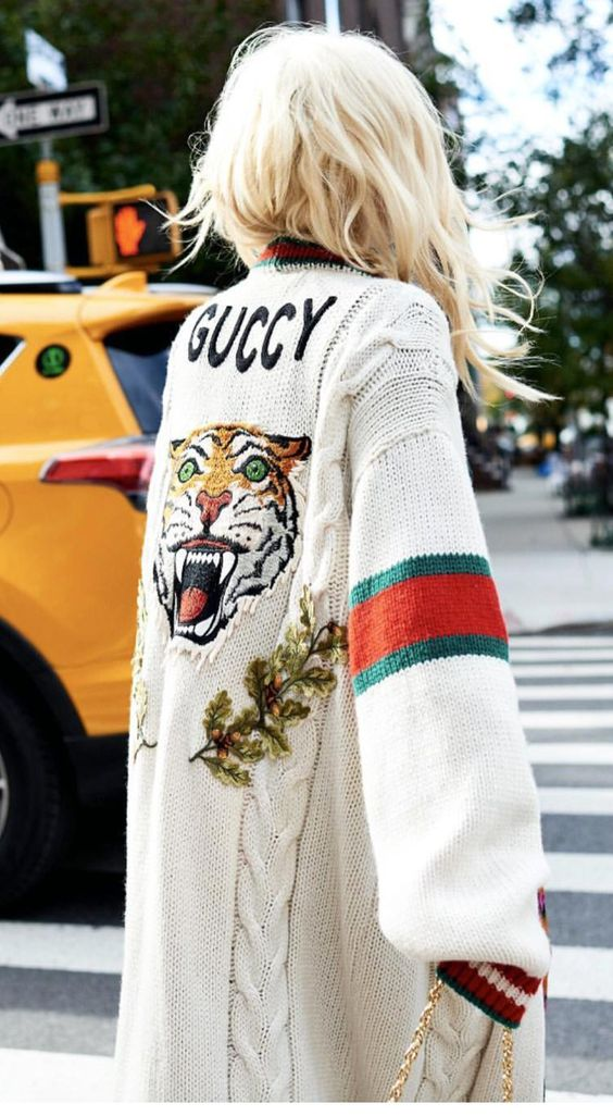 Gucci oversize sweaters | Cardigan duster | Girlfriend is Better