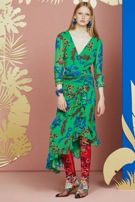 Etro Resort 2018 | Paisley dress and pants | Girlfriend is Better