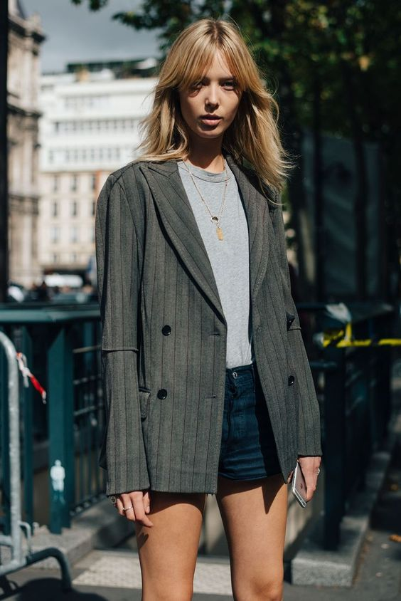 Double-breasted blazers | Paris Fashion Week