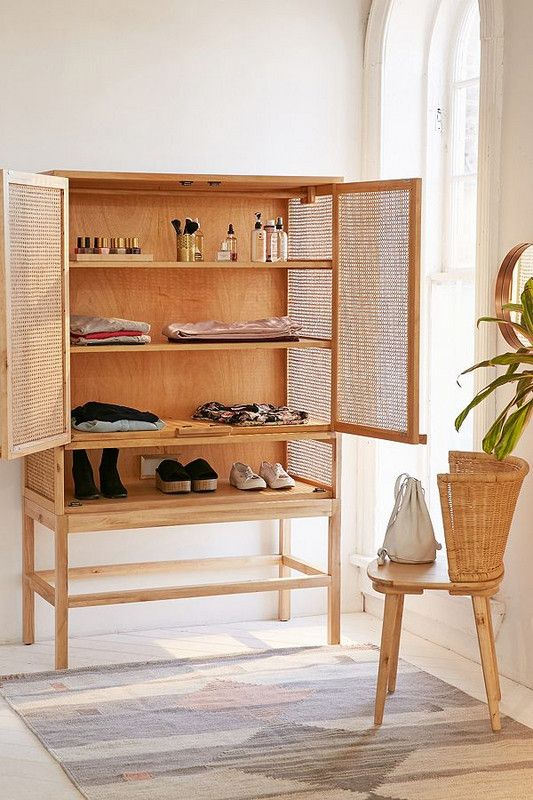Organization ideas for bedrooms | Storage cabinet for clothes | Girlfriend is Better