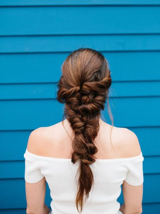 Mermaid braids effortless easy summer hairstyles | Girlfriend is Better