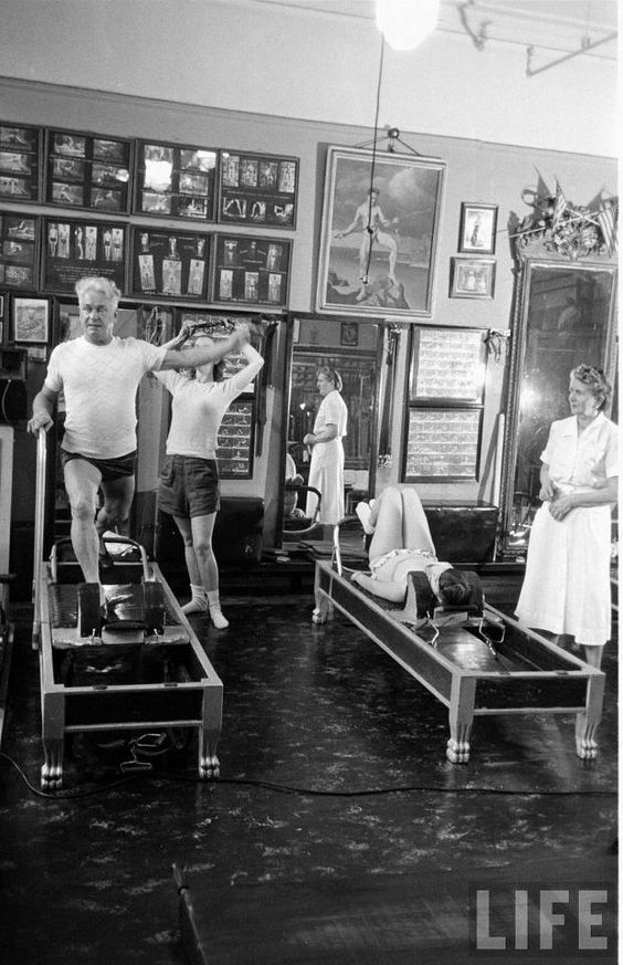 Vintage Joseph Pilates reformer class | exercise philosophy | Girlfriend is Better