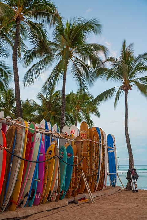 Oahu Hawaii surfboards beach | Girlfriend is Better