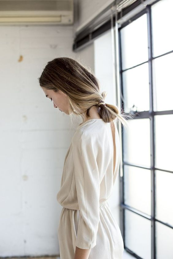winter white outfits | open back dress modest vintage | Girlfriend is Better