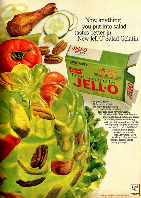 Jello Salads | Vintage lime ad | Girlfriend is Better
